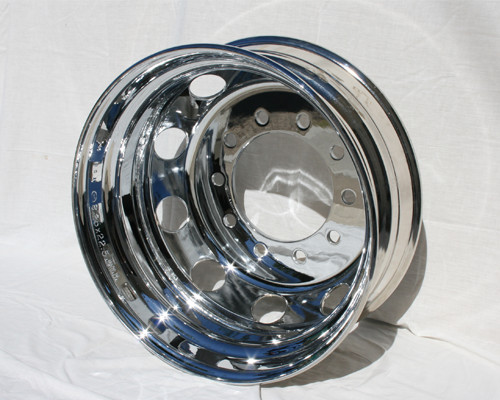 All steel rims and wheels chromed and/or supplied.