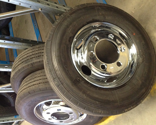 Smaller rims off Hino's, low loaders, Isuzu, old trucks, new trucks - we should have in stock.